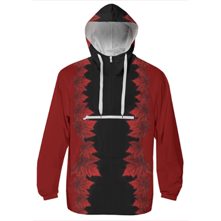 Shop Autumn Leaves Jacket Canada Souvenir Windbreaker Windbreaker ...