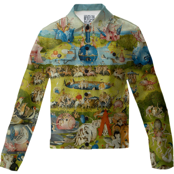 Garden Of Earthly Delights (Ecclesiau0027s Paradise) $120.00. By THE GRIFFIN  PASSANT STREETWEAR (STREETWEAR)