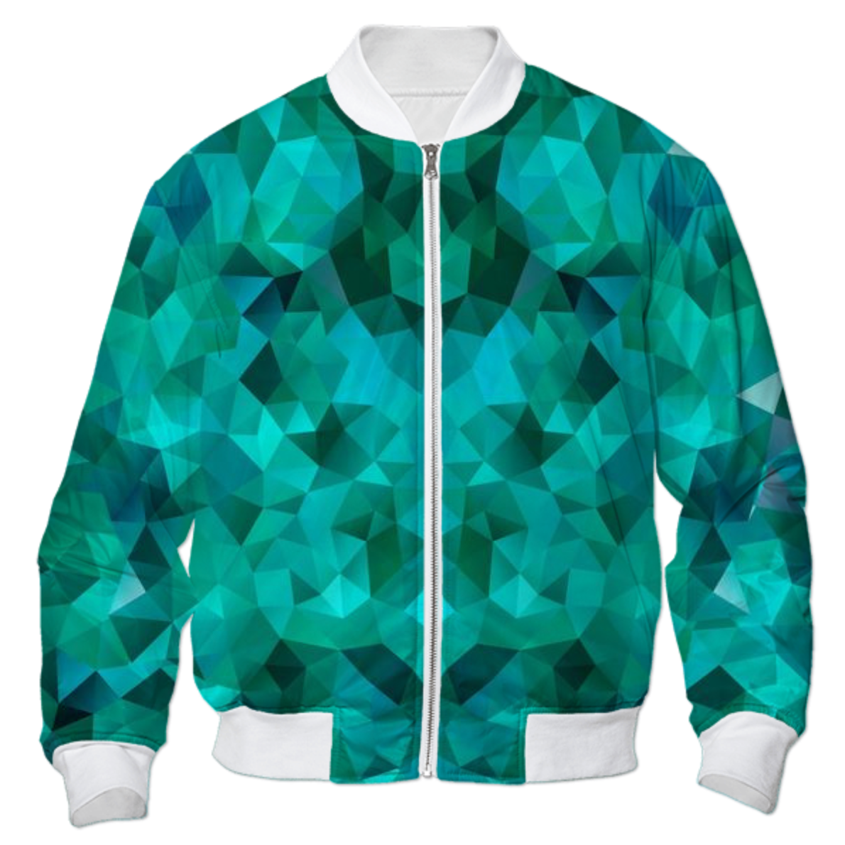 Shop POLYGON, TRIANGLES, PATTERN, GREEN, EMERALD, ABSTRACT ...