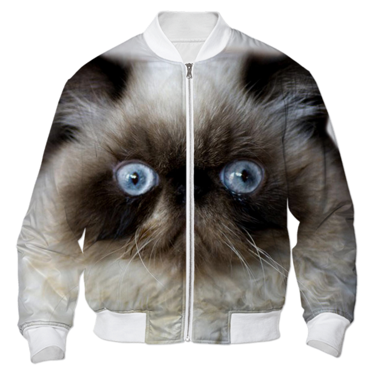 Shop Funny Cat Bomber Jacket Bomber Jacket by Erika Kaisersot ...