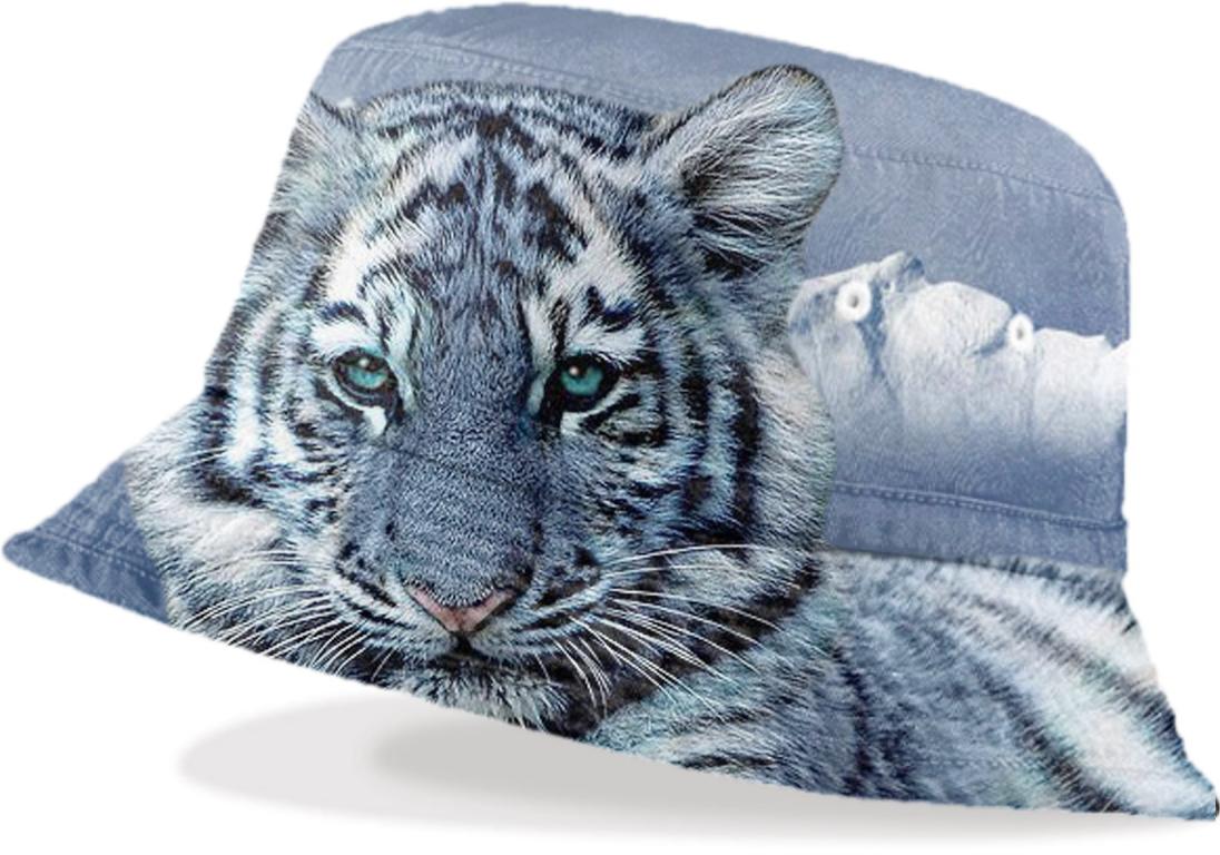 shop white tiger bucket hat bucket hat by erika kaisersot print