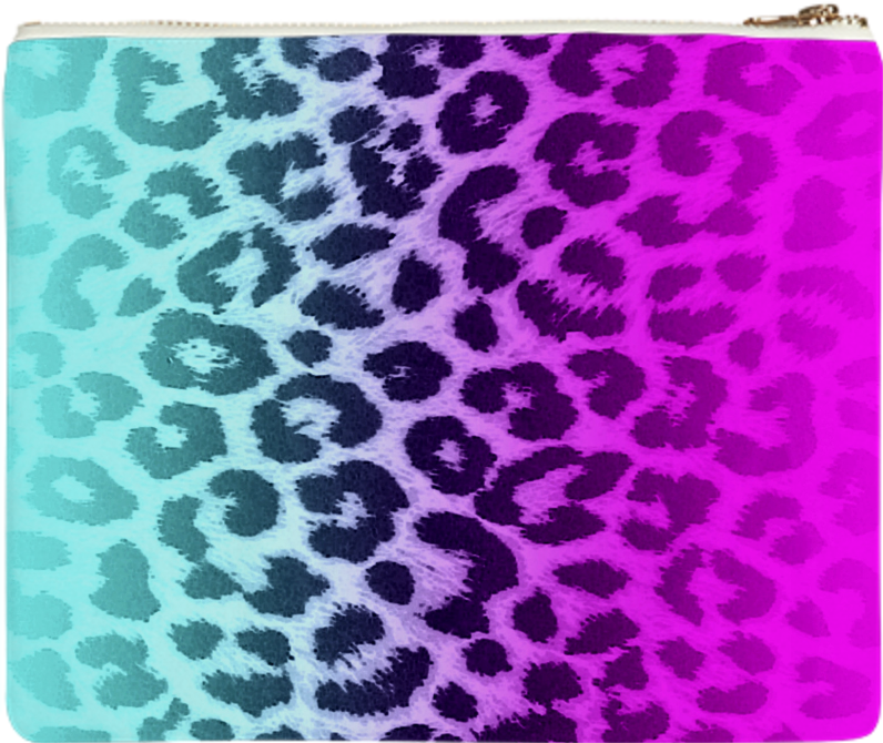 Shop hot pink tiffany blue gradient leopard print clutch by riverme shop hot pink tiffany blue gradient leopard print clutch by riverme print all over me thecheapjerseys Gallery