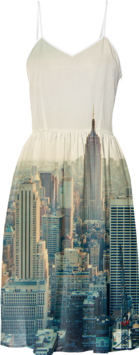 shop new york new york city skyline photo summer sun dress summer dress by igalaxy print all. Black Bedroom Furniture Sets. Home Design Ideas