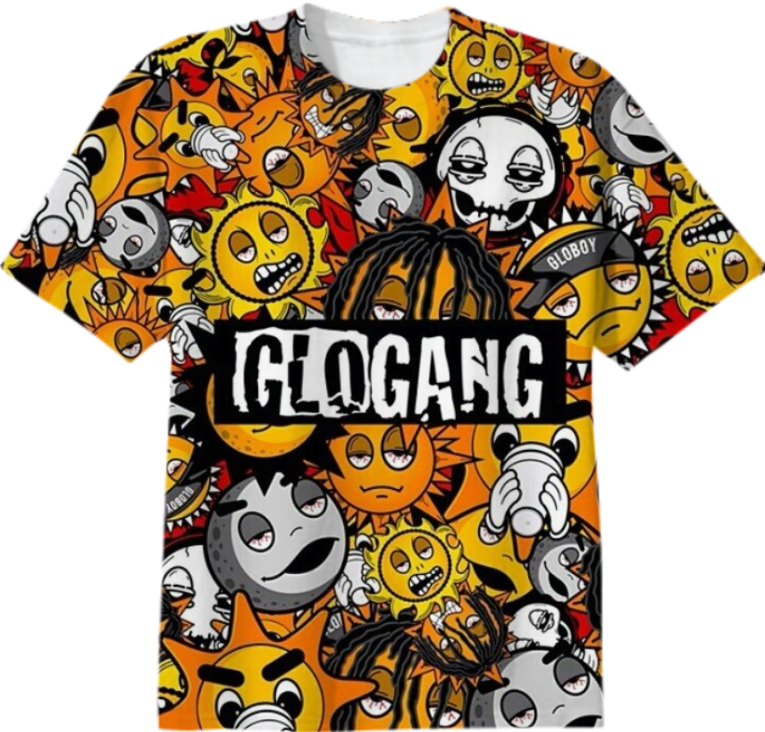 Shop GLO GANG T-SHIRT Cotton T-shirt by richsavageglo ...