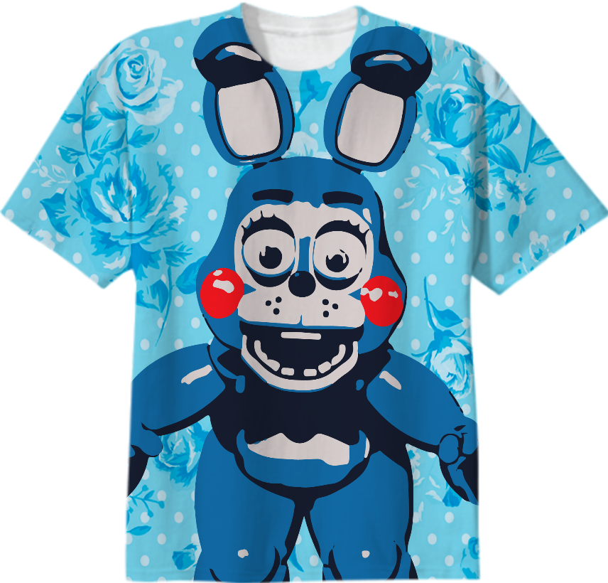 shop kawaii toy bonnie cotton t shirt by hipster chicken print all