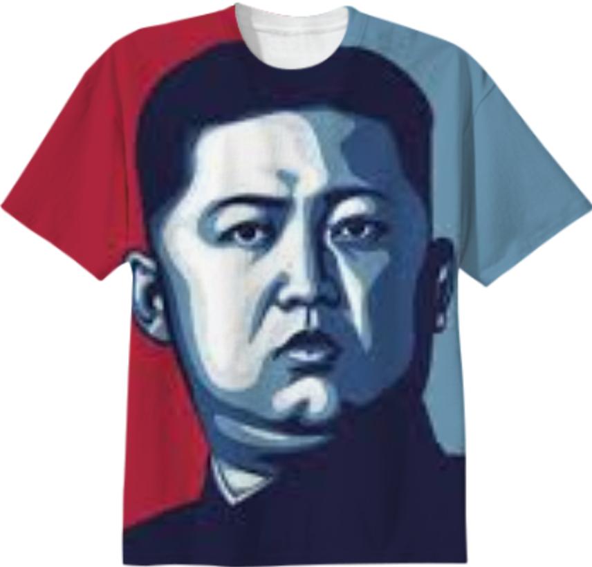 Shop Kim Jong-Un T-Shirt Cotton T-shirt by kim-jong-un-t-shirt ...