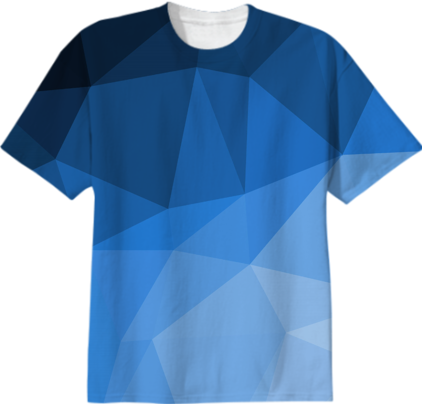 Shop modern geometry t shirt abstract polygonal design for Cheap t shirt design websites