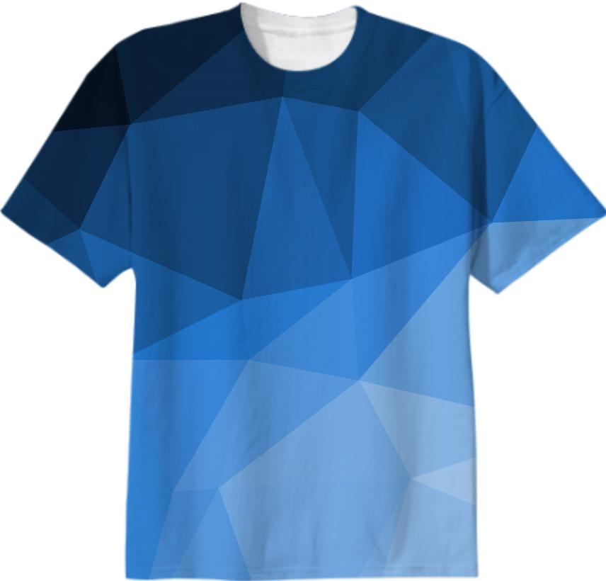 Shop modern geometry t shirt abstract polygonal design for T shirt designs erstellen
