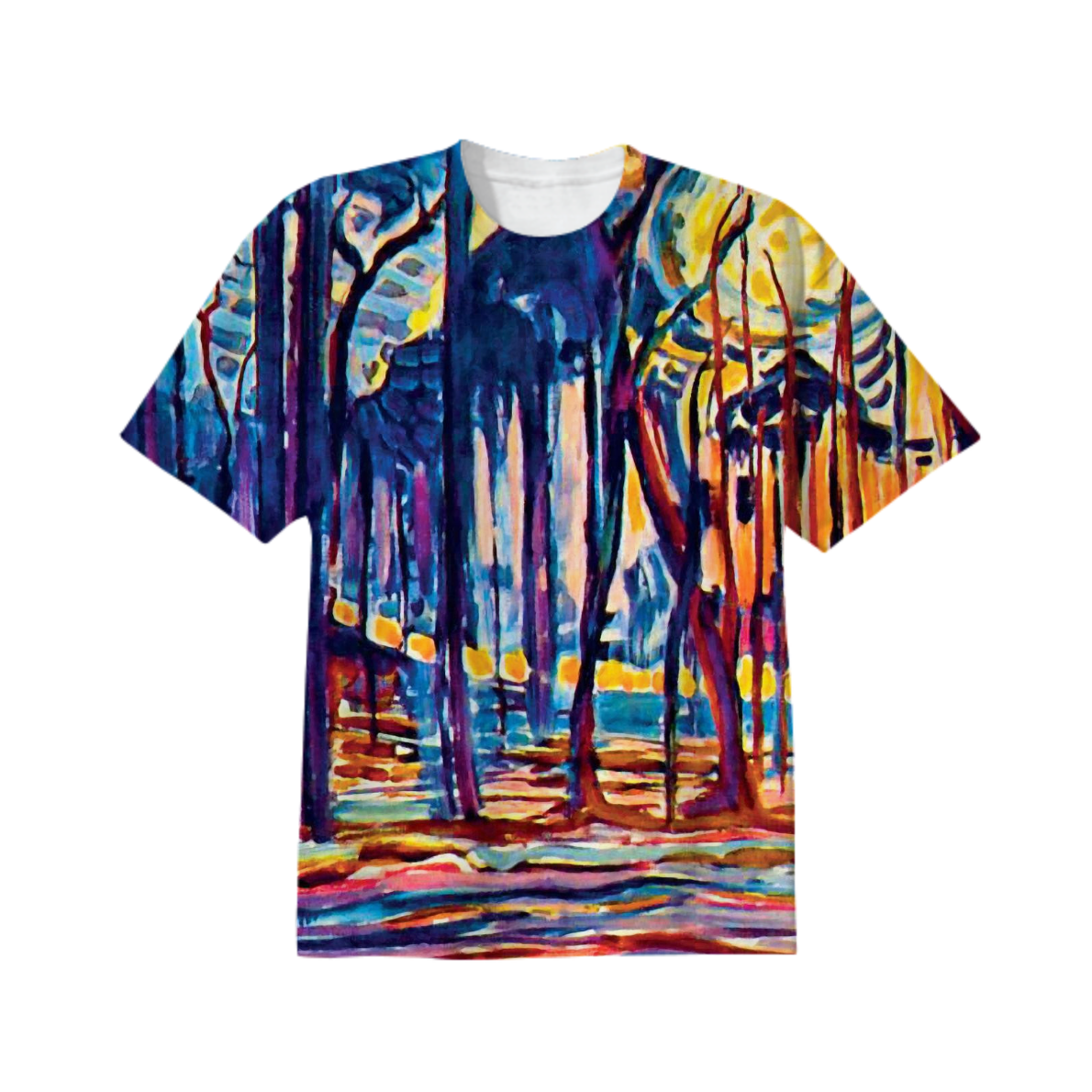 Shop Mondrian Woods Near Oele Cotton T Shirt By Insideout