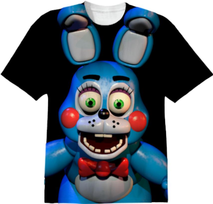 shop toy bonnie cotton t shirt by eucliddd print all over me