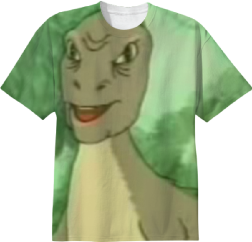 Shop yee-shirt Cotton T-shirt by dancingladyemoj