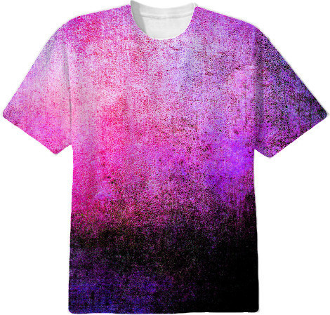 Shop Abstract Cool Colors Lovely Grunge Texture T Shirt Cotton T ...