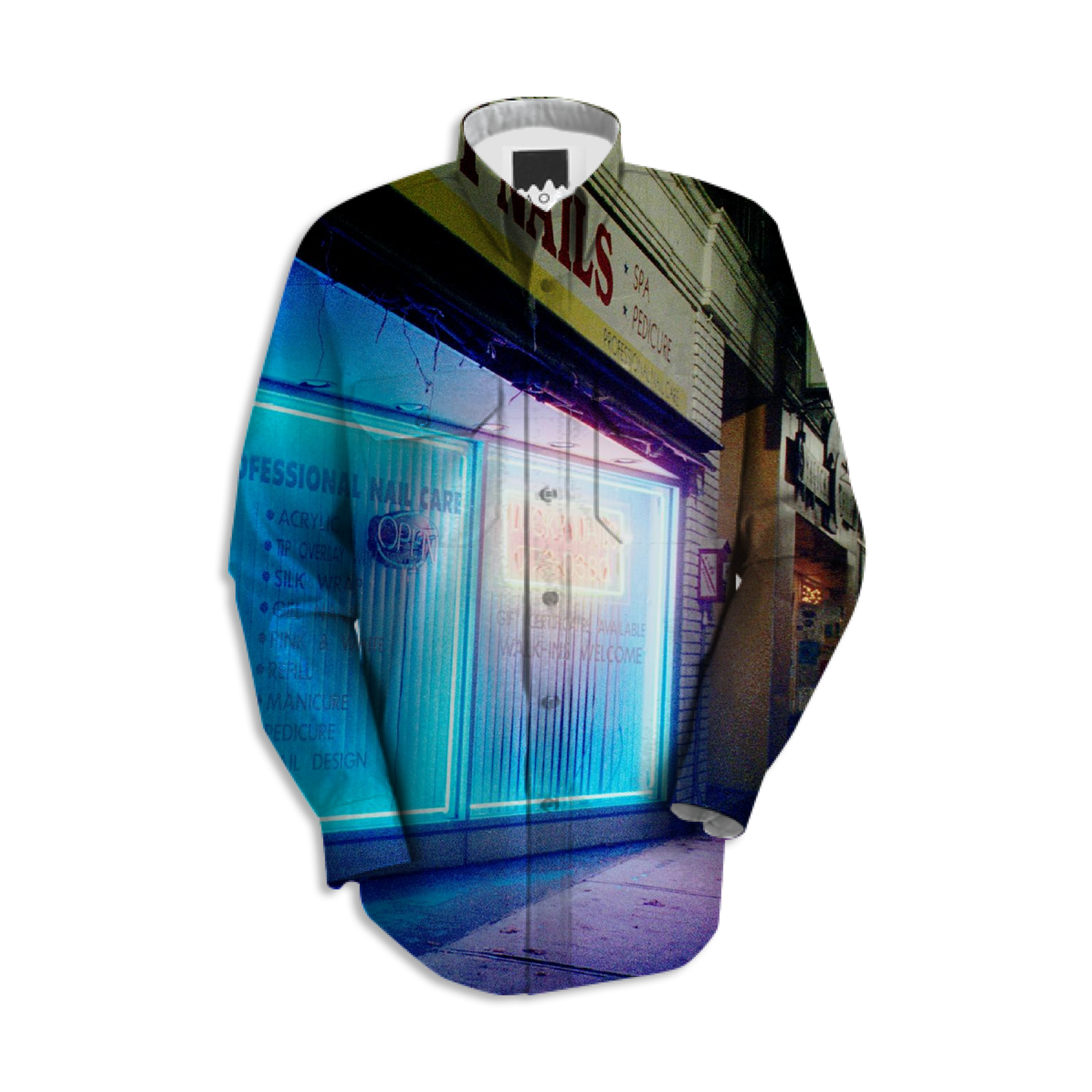 Shop Lucky Nails in Greenfield, MA USA, Night Light Series Workshirt ...