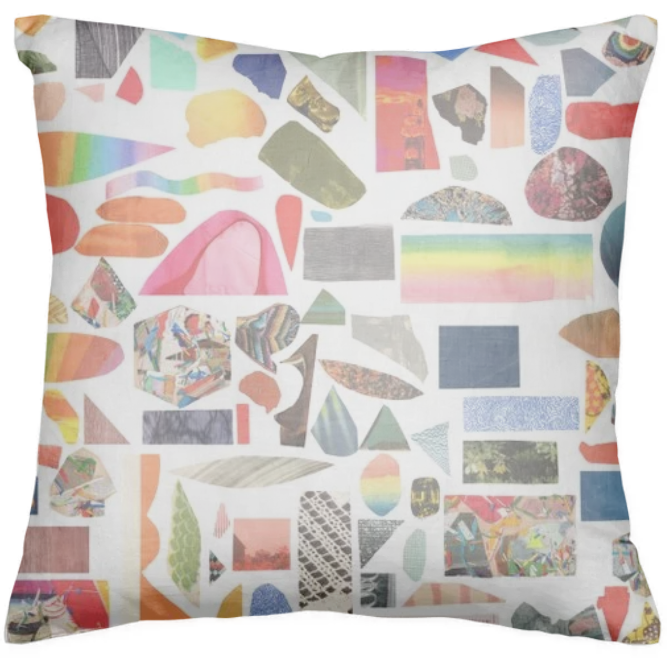 shop collage pillow pillow by brandistrickland print all over me