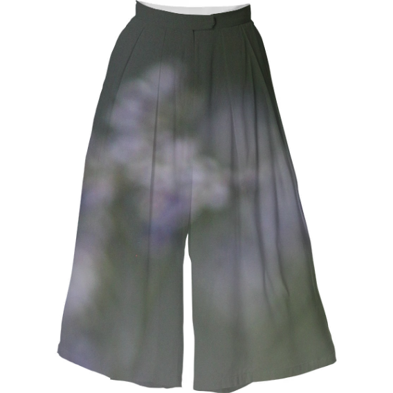 Shop Extra Long Flowy Shorts VP Culotte by SueChisholm | Print All ...